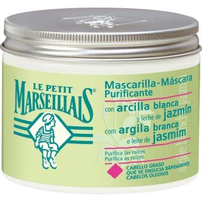 Le Petit Marsellais MASCARILLA CAPILAR ARCILLA BLANCA Y JAZMIN