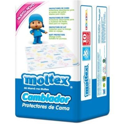 Moltex Cambiador Desechable Pack 10 Unidades