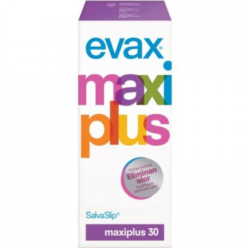 Evax Salvaslip Evolution maxi plus pack 30 unidades