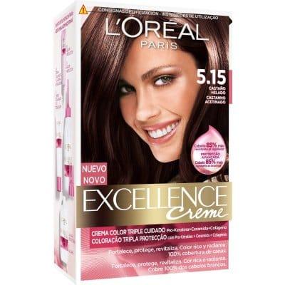 Excellence Tinte Excellence Creme 5.15 Castaño Helado