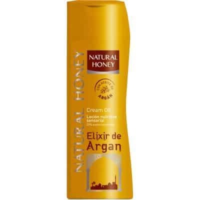 Natural Honey Loción corporal Elixir de Argán 330 ml.