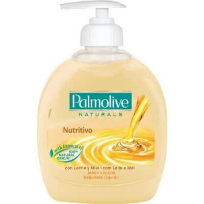Palmolive Jabón con dosificador 300 ml. Leche y miel