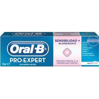Oral-b Pasta Dental Pro Expert Sensibilidad Y Blanqueante