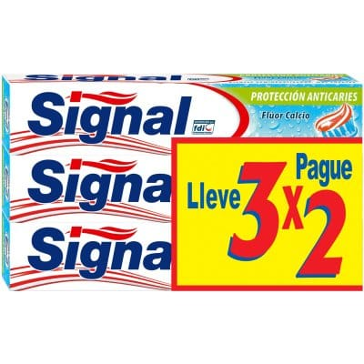 Signal Pasta dental ultraprotección 75 ml. pack 3 x 2