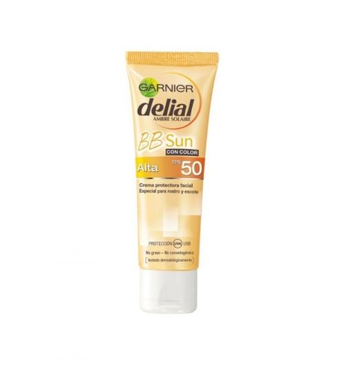 Delial Bronceador Facial BB Cream SPF 50+