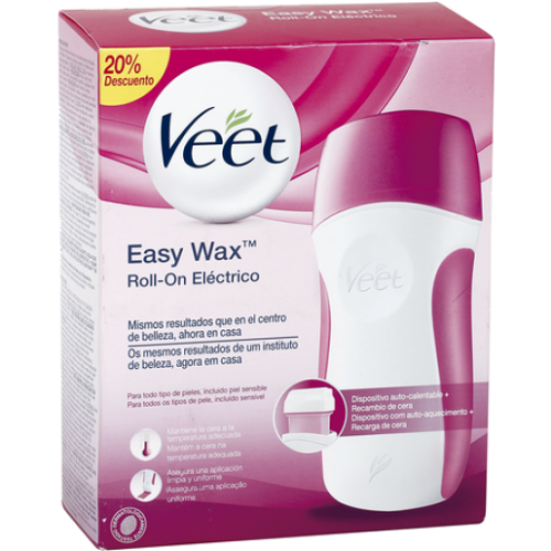 Veet EASY WAX ROLL-ON ELECTRICO + RECAMBIO