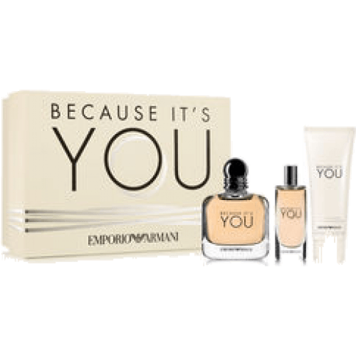Armani Estuche Because It's You