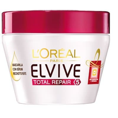 elvive mascarilla capilar 300 ml. total repair