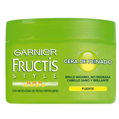fructis cera de peinado fuerte