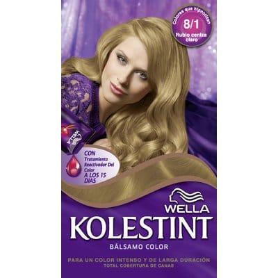 Kolestint Tinte capilar 8/1 rubio ceniza claro