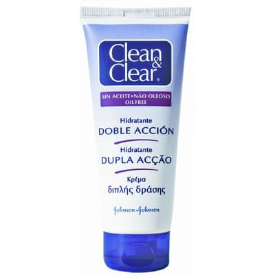 Clean & Clear Crema facial hidratante doble accion