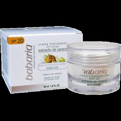 Babaria Crema Facial En Gel Hidratante 24H SPF20