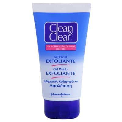 Clean & Clear Gel Limpiador Exfoliante