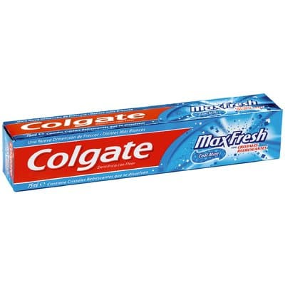Colgate Pasta dental 75 ml. Max fresh azul