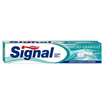 Signal Pasta dental 75 ml. Microgránulos