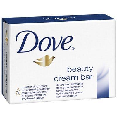 Dove Jabón de manos hidratante 100 gr. pack 2 unidades