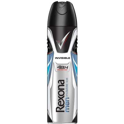 Rexona Desodorante for men spray 200 ml. Invisible Ice