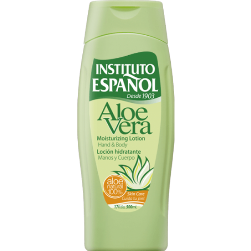 Instituto Español Body milk 500 ml. Aloe vera
