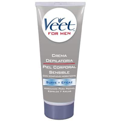 Veet CREMA DEPILATORIA FOR MEN PIEL SENSIBLE