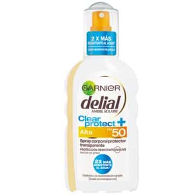 Delial Bronceador Clear & Protect Spray SPF50
