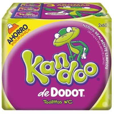 Kandoo Toallitas pack 120 unidades