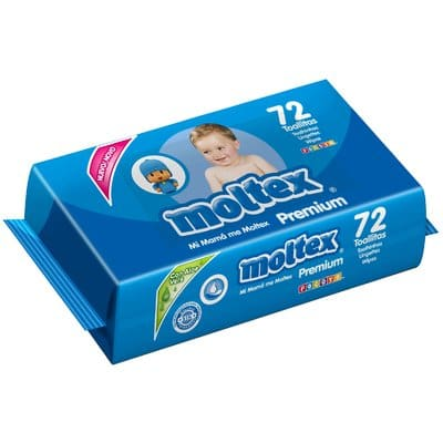 Moltex Toallitas Premium pack 72 unidades