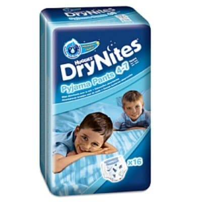 Drynites Huggie Pañal 16 und. 17/30 kg. niño