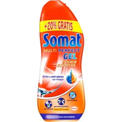 Somat Detergente Gel Vinagre 22 Dosis