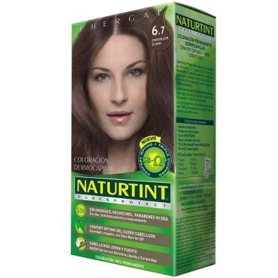 Naturtint Tinte Capilar Pure & Protect 6.7 Chocolate Claro