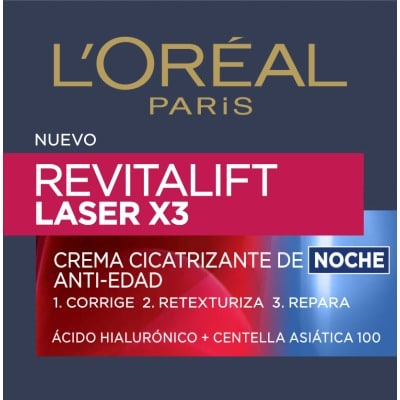 Dermo Expertise Crema de belleza Revitalift Láser x3 noche 50 ml.