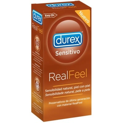 Durex Preservativos Real Feel Pack 12 Unidades