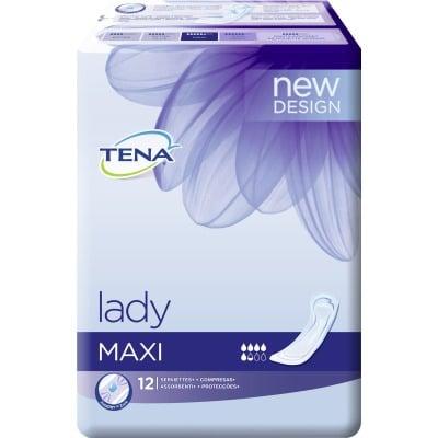 Tena Lady Compresa maxi pack 12 unidades