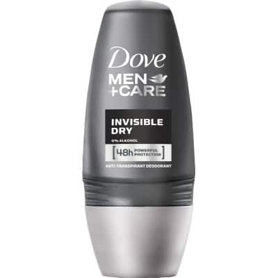 Dove Desodorante for men roll-on 50 ml. Invisible Dry