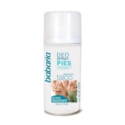 Babaria Desodorante para pies Aloe Vera spray 150 ml.