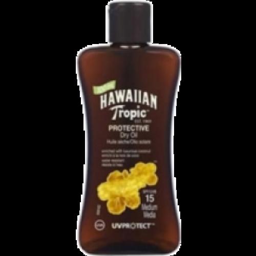 Hawaiian Tropic Bronceador Aceite SPF-15 100 ml.
