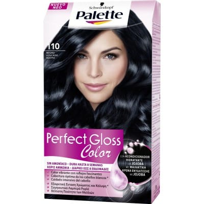 Palette Perfect Gloss Tinte capilar Perfect Gloss nº 110 Negro azulado