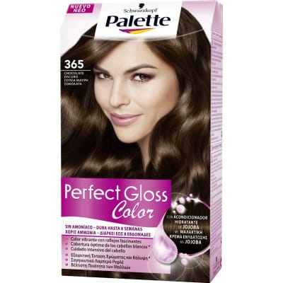 Palette Perfect Gloss Tinte capilar Perfect Gloss nº 365 Chocolate oscuro
