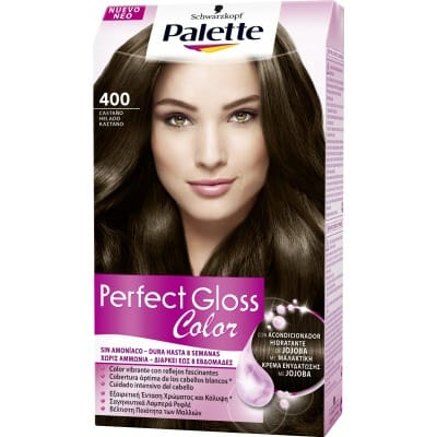 Palette Perfect Gloss Tinte capilar Perfect Gloss nº 400 Castaño helado