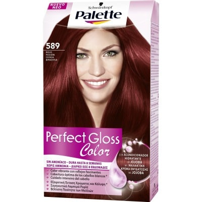 Palette Perfect Gloss Tinte capilar Perfect Gloss nº 500 Castaño claro mocca