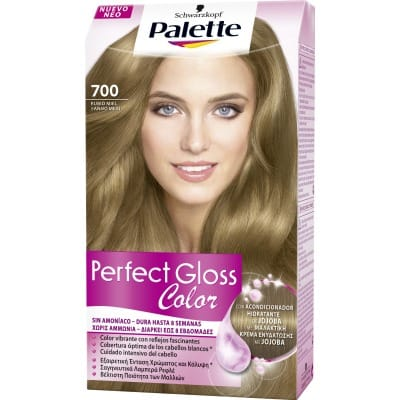 Palette Perfect Gloss Tinte capilar Perfect Gloss nº 110 Rubio miel