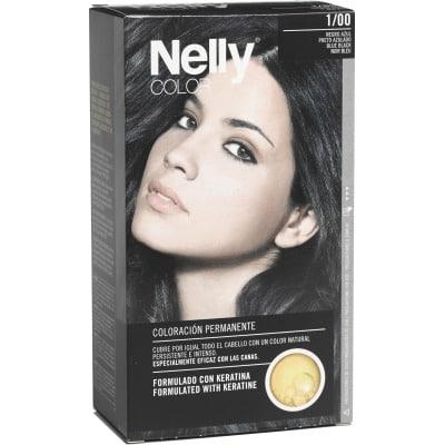 Nelly Tinte capilar nº 1/00 Negro azul
