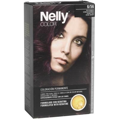Nelly Tinte capilar nº 6/56 Rojo granate