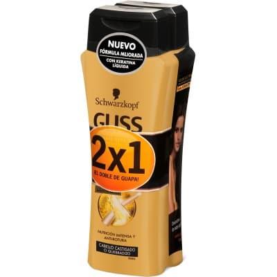 Gliss Champú 250 ml. Oil Elixir pack 2 x 1