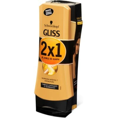 Gliss Acondicionador 200 ml. Oil Elixir pack 2 x 1