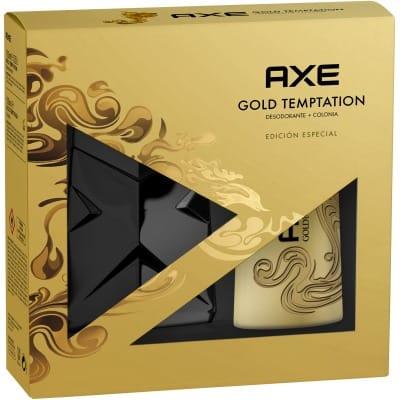 Axe Estuche axe gold temptation + desodorante