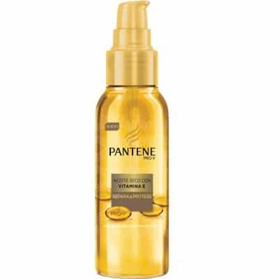 pantene aceite seco repara & protege con vitamina e 100 ml.
