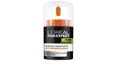 Men Expert Crema Pure Power hidratante anti-imperfecciones 50 ml.
