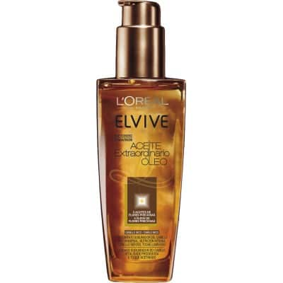 Elvive Aceite Extraordinario para cabellos secos 100 ml.