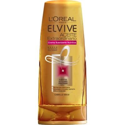 Elvive Crema suavizante 250 ml. Aceite Extraordinario