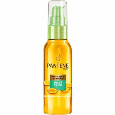 Pantene Aceite seco Suave y Liso con aceite de Argán 100 ml.